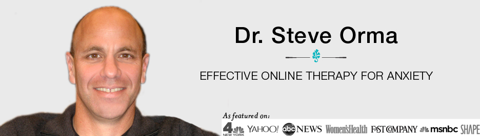 Dr. Steve Orma - Effective Online Therapy for Anxiety