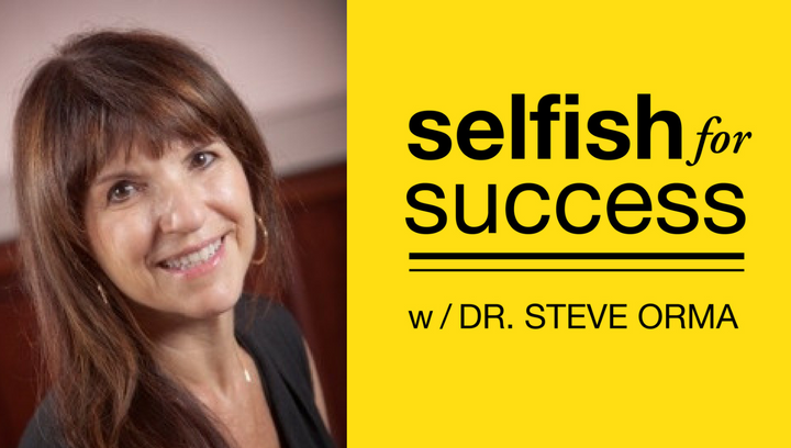 Selfish For Success Podcast 004: Dr. Ellen Kenner – Why & How to Be Selfish in Your Romantic Relationship
